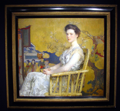 """Portrait of Mrs. C"" by Tarbell"