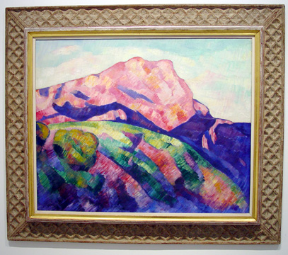 """Mont Sainte-Victoire"" by Hartley"