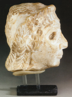 Sumerian head of a worshipper