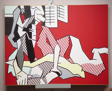 """Woman Reading"" by Lichtenstein"