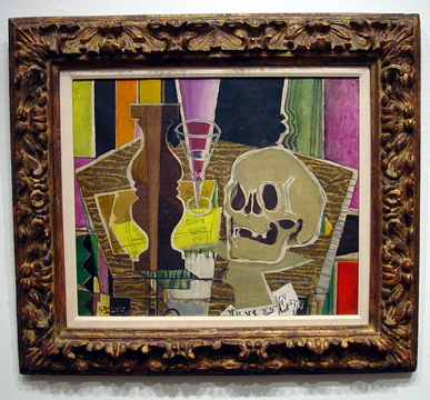 """Balustre et crane"" by Braque"