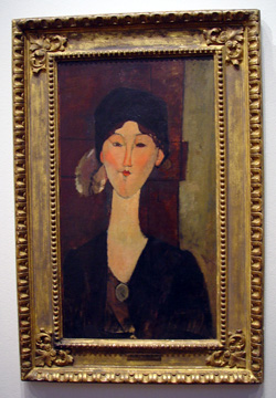"""Beatrice Hastings"" by Modigliani"
