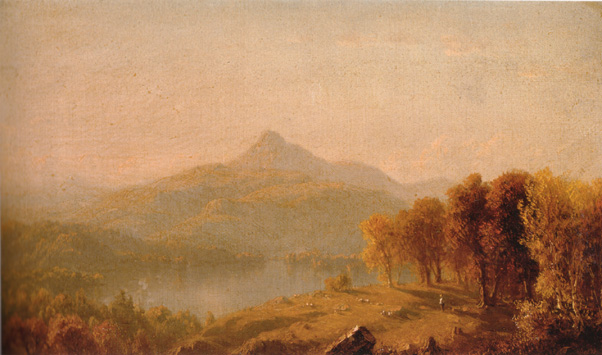 """A Sketch of Mount Chocorua"" by Gifford"