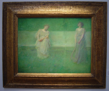 """The Song"" by Dewing"