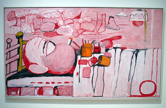 """Painter in Bed"" by Guston"