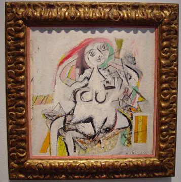 """Woman"" by de Kooning"