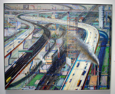 """Freeways"" by Thiebaud"