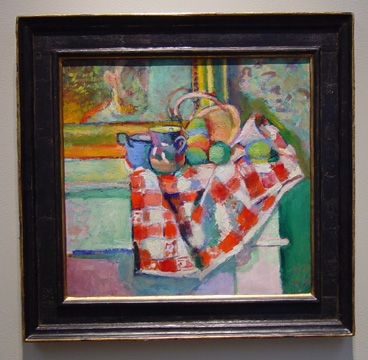 """Nature Morte, Serviette a Carreaux"" by Matisse"