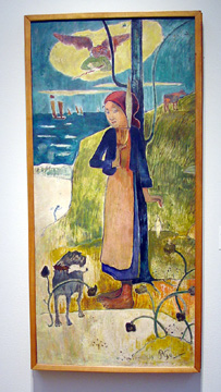 """Jeanne d'Arc"" by Gauguin"