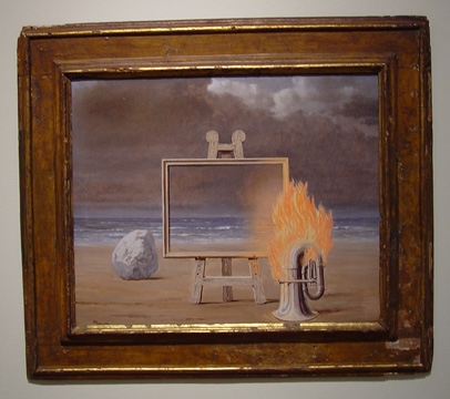 """La Belle Captive"" by Magritte"