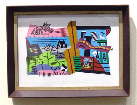 """Sunrise"" by Stuart Davis"