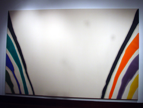 """Gamma Kappa"" by Morris Louis"