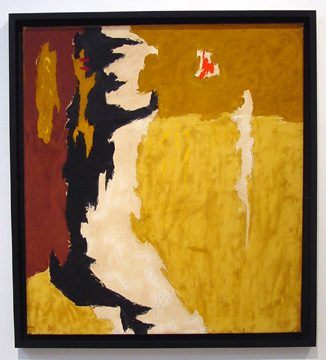 """1945-R"" by Clyfford Still"