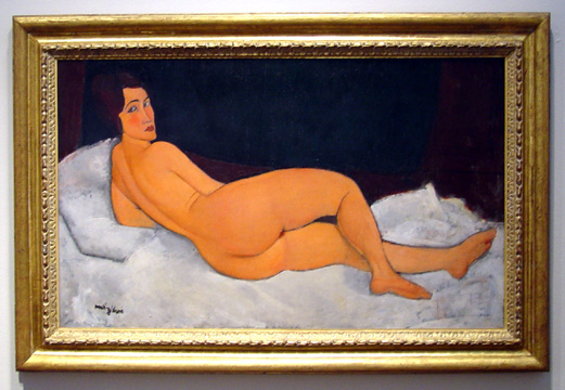 """Nu Couché"" by Modigliani"