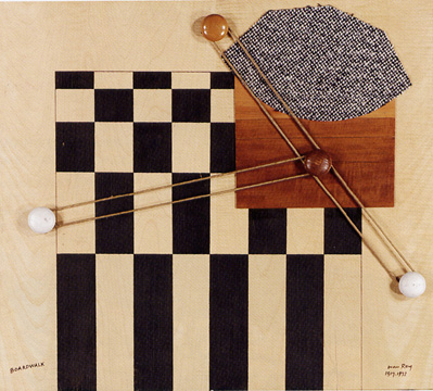 """Boardwalk"" by Man Ray"