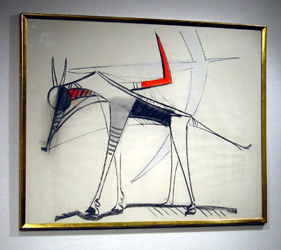 """Animal"" by Wilfredo Lam"