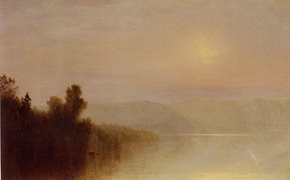 """Near Sunset"" by John F. Kensett"