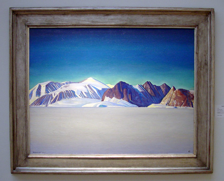 """Blue Day, Greenland,"" by Rockwell Kent"