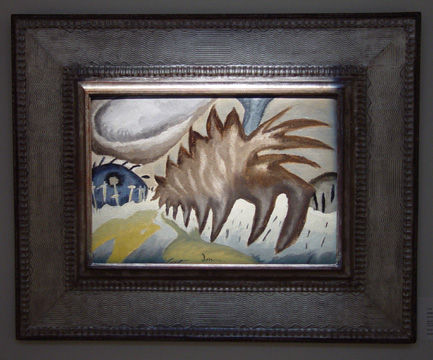 """Snowstorm"" by Arthur Dove"