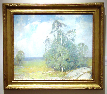 """Trees in Full Sumer"" by Emil Carlsen"
