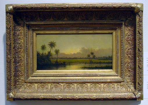 """Palm Trees, Florida,"" by Heade"