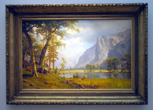 """Yosemite Valley"" by Bierstadt"