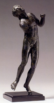 Greek figure of a youth