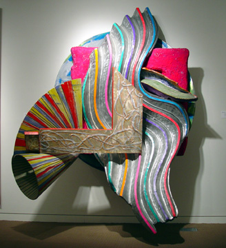 """The Quadrant"" by Frank Stella"