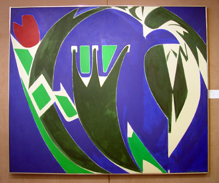 """Majuscule"" by Lee Krasner"