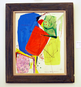 """Color Volume III"" by Hans Hofmann"