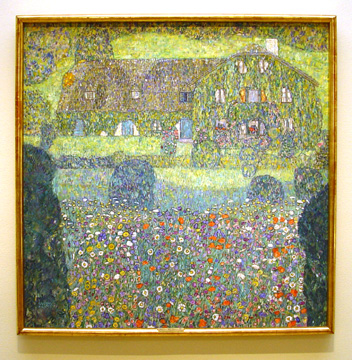 """Landhaus Am Attersee"" by Gustav Klimt"
