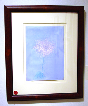 """Chrysanthemum"" by Piet Mondrian"