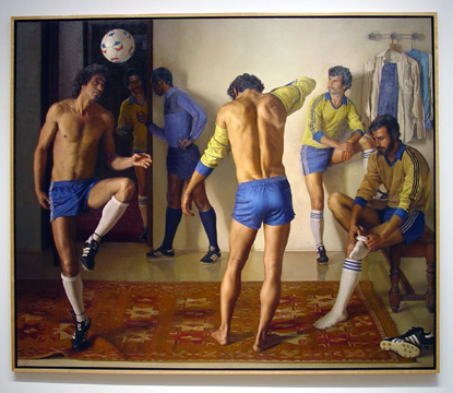 """Before The Game"" by Claudio Bravo"