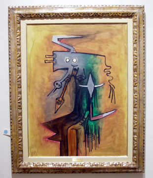 """Totem"" by Wilfredo Lam"