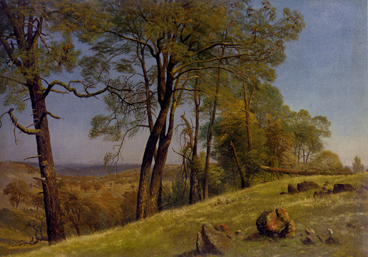 """Landscape, Rockland County, California"" by Bierstadt"