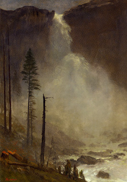 """Nevada Falls"" by Bierstadt"