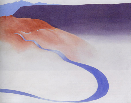 """Road to the Ranch"" by O'Keeffe"