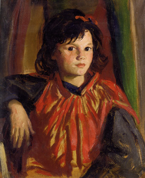 """Pegeen,"" by Robert Henri"