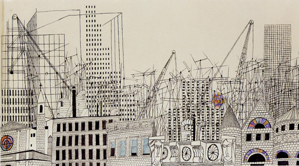 """Farewell to New York..."" by Ben Shahn"