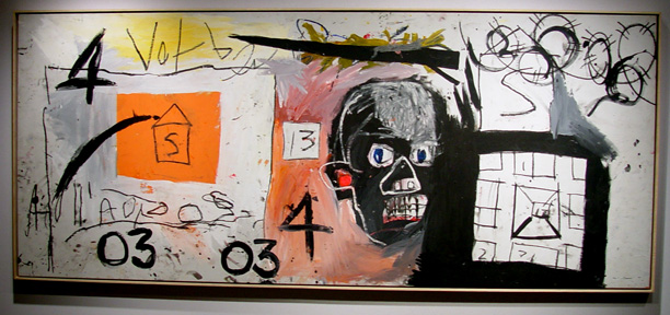 """Untitled (Head)"" by Basquiat"