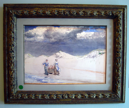 """Sand and Sky"" by Homer"
