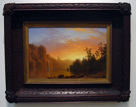 """Sunset in California"" by Bierstadt"