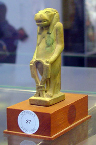 Faience figure of Thoeris