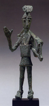 Sardinian bronze figure of a warrior