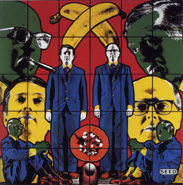 """Seed"" by Gilbert & George"