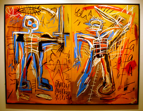 """Offensive Orange"" by Basquiat"