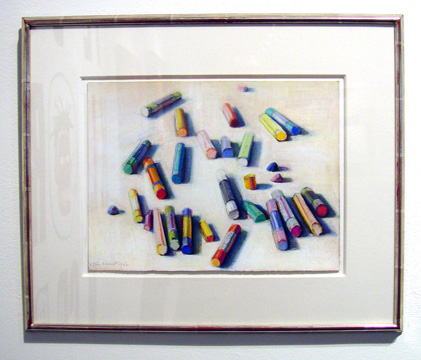 """Various Pastels"" by Thiebaud"