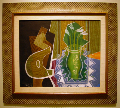 """Palette et Vase de Narcisses"" by Braque"