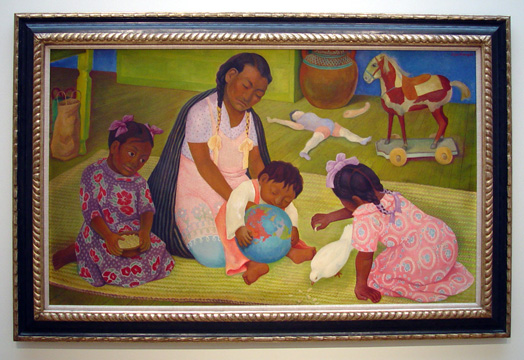 """Maternidad"" by Rivera"