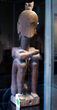 Male Altar Figure, Leti Islands, Southeast Moluccas